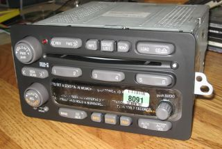 New 2001 2005 Pontiac Aztek 6 Disc CD Changer Radio Montana