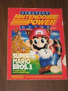 Super Mario Bros 3 Nintendo Power Strategy Guide Volume 13 1990