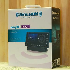 New Sirius XM XDNX1H1 Onyx Dock and Play Satellite radio Receiver with Home Kit