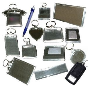 Blank Keyrings Fridge Magnets Pens Rulers All Sizes Available New SEALED