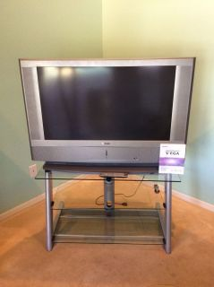"Sony Grand WEGA 42"" LCD HD TV w Bell'O Stand"