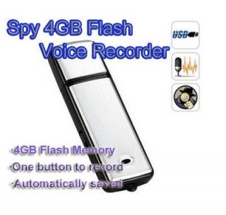 New Mini 4GB USB Hidden Spy Pen Digital Audio Voice Recorder Flash Drive
