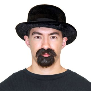 TV Show Breaking Bad Walter White Walt Costume Alias Pork Pie Hat Beard Mustache
