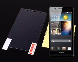 Anti Glare Matte LCD Screen Protector Film Cover for Huawei Ascend P6