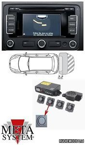 Meta Add on Rear Parking Sensors VW Optical Ops PDC RNS RCD Radios
