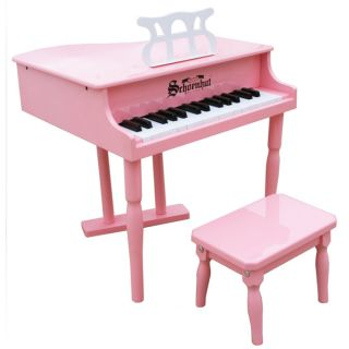 Mini Baby Grand Piano Classic 30 Key Pink from Brookstone