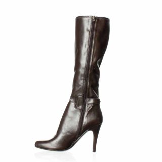 Marc Fisher Sunshine Knee High Boot Dark Brown 9 5