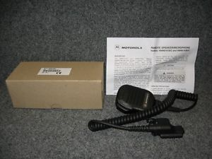Motorola NMN6193C Compact Portable CB Radio Wired Speaker Microphone New