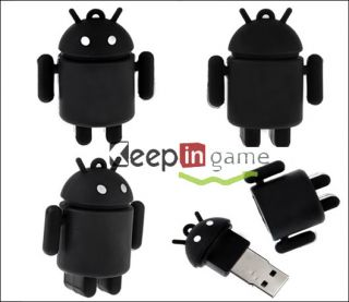 Cool 4GB Android Robot USB 2 0 Flash Memory Stick Drive Pen