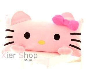 KT98 High Quality Hello Kitty Relax Office Home Pillows Plush Hold Pillow Small