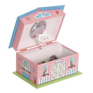 Mele & Co. Autumn Girls Musical Horse Jewelry Box