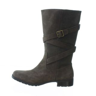 Lauren by Ralph Lauren Shelby Knee High Boots Dark Brown 9
