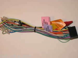 Pioneer AVIC D3 Factory Shipped Power Speaker Wire Harness Same Day SHIP