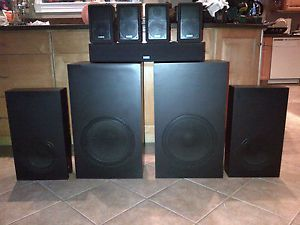 Cambridge Soundworks Ensemble Surround Sound Home Theatre Speaker System
