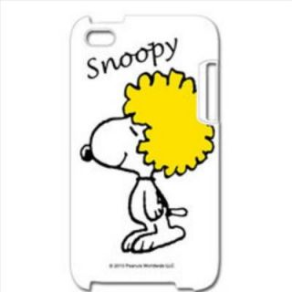 Peanuts Snoopy iPod Touch 4G Back Case Cover Headdress