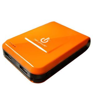 12000mAh USB Portable Battery Charger for Tablet iPad iPhone Cell Phone Orange