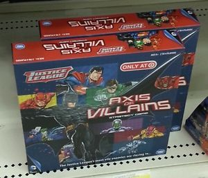 Justice League Axis of Villains Strategy Card Dice Game Target Exclusive