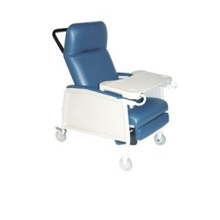 Drive Medical Gray 3 Position Geri Chair Recliner