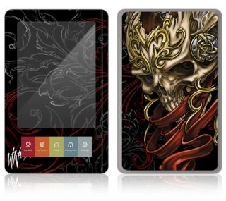 WL5   Barnes & Noble Nook/Color/Touch decal skin sticker cover   Celtic Skull