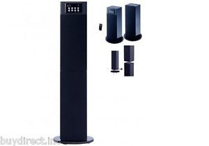 New Craig 2 in 1 Bluetooth Wireless Stereo Home Theater Tower Speaker System