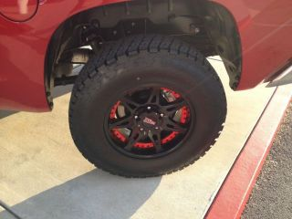 "SR5 5 7L Double Cab 4 Door 4x4 4 Wheel Drive Custom Wheels Lifted 3 "" Lift Kit"
