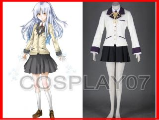 Angel Beats Angel Kanade Tachibana Cosplay Costume