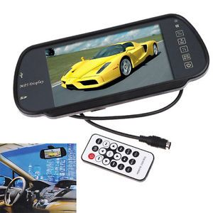 "7"" TFT LCD Car Reverse Rear View Color Monitor USB SD FM Transmitter MP5"