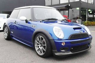 BMW Mini Cooper s R50 R52 R53 JCW Style Glossy Black Grille