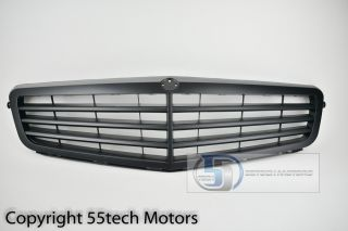 08 12 Mercedes Benz W204 C300 C350 C230 Grille Grill Stock Style Matte Black New
