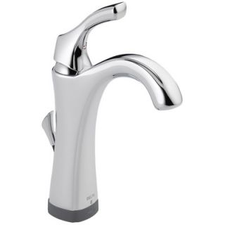 Delta Addison Single Hole Bathroom Faucet with Single Handle and Diamond Seal Technology   592T DST