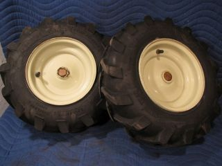 Tires Wheels Excellent Troy Bilt Horse Rototiller Tiller Armstrong Power Trac