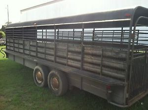 24ft Gooseneck Cattle Horse Trailer Stoll Brand