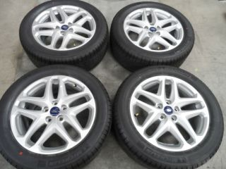 "17"" Ford Fusion 2013 Focus 2012 Wheels w Michelin Tires 5x108 2014"