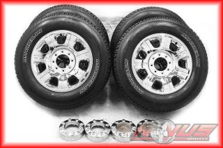 "2012 20"" Ford F250 Suderduty King Ranch Chrome Clad Wheels Michelin Tires 18"