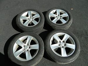 Mazda 17 Set of 4 Factory Alloy Wheels Rims w Michelin Tires MPV 215 60 17