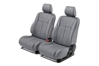 Leathercraft CHR7036GR FS RAM Custom Truck Seat Covers Front Set Gray Leather