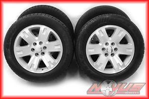 "20"" GMC Yukon Denali Tahoe LTZ Sierra Machined Wheels Goodyear Tires 22 18"