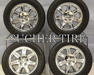"Jeep Commander 18"" Factory Wheels Rims 1DY98TRMAA Goodyear Tires 9078"