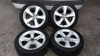 "BMW 325i 328i 330i Wheels Goodyear Tires 17"" Rims Style 137 E90 E92 E46"