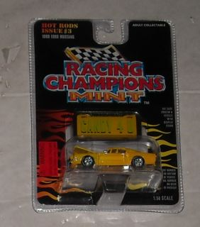 Racing Champions Hot Rods Issue 3 1968 Ford Mustang Diecast