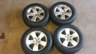 "20"" Dodge RAM Factory Wheels and Goodyear Tires 275 60 20"