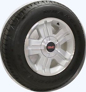 "2000 2013 New GMC Sierra Yukon 18"" Z71 Wheels Rims Goodyear Tires"