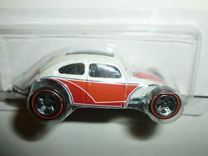 Hot Wheels Custom Volkswagen Beetle Since '68 Hot Rods Redline Tires