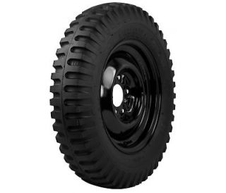 Two 6 00 16 Speepways Military Jeep Willys Vehicle Truck Tires
