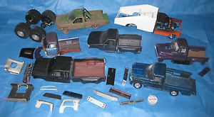 7 Plus Model Truck Junkyard Lot Ford Chevy Monster Truck Tires Short Long Bed