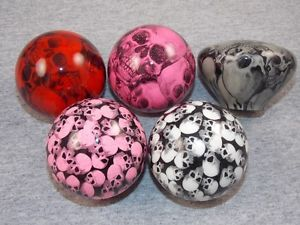 Skull Wrapped Custom Shift Knob White Pink Red or Gray Hot Rods Muscle Cars