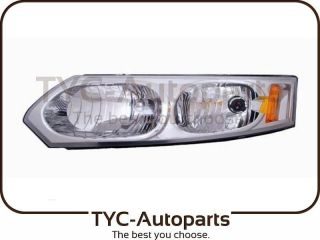 TYC 2003 2007 Saturn ion Sedan Headlight Assembly w Bulb w Socket LH