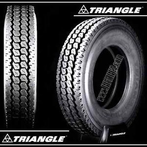 Triangle TR657 11R24 5 16 Ply Premium Drive Rear Semi Truck Tires