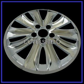 "1 Piece 18"" 11 12 Hyundai Sonata Chrome Wheel Skin Hubcaps Cover Hub Cap"