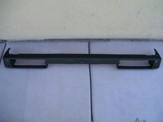Suzuki Samurai Rear Bumper Really Good Condition No Rust Straight